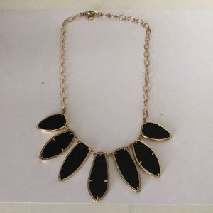 Black Stella and Dot necklace
